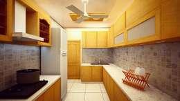 MODULAR KITCHEN:   by Al Hashro Interiors