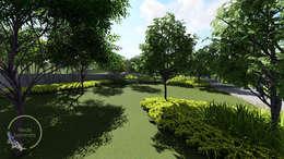 áreas verdes: Jardines de estilo moderno por Verde Lavanda