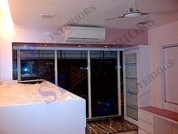 Vibha Hegde: modern Living room by SP INTERIORS