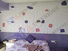 Vibha Hegde: modern Bedroom by SP INTERIORS