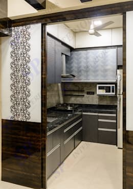 VarunJhaveri: modern Kitchen by SP INTERIORS