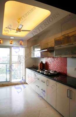 Shalin Jain: modern Kitchen by SP INTERIORS
