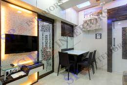 Sagar bajaj: modern Dining room by SP INTERIORS
