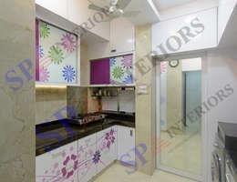 Sagar bajaj: modern Kitchen by SP INTERIORS