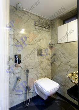Ritesh bhai: modern Bathroom by SP INTERIORS