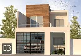Propuesta de Diseño Principal: Casas de estilo moderno por Arch DB - Arquitectos