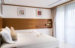 細膩:  臥室 by 松泰室內裝修設計工程有限公司