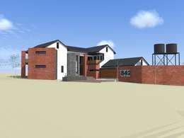 house hlako:   by Peu architectural studio