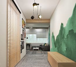 Residence:  Corridor & hallway by Designism