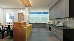 Residence: eclectic Kitchen by Designism
