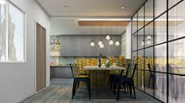 Residence: eclectic Dining room by Designism
