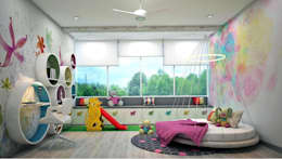 Residence: eclectic Nursery/kid's room by Designism