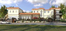 Chateau de Boudreault:  Single family home by Constantin Design & Build