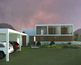 Casa Marbella: Casas de estilo mediterraneo por Nicolas Loi + Arquitectos Asociados