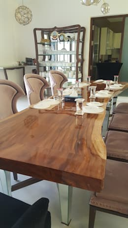 MARTIN RESIDENCE: modern Dining room by CARTWHEEL