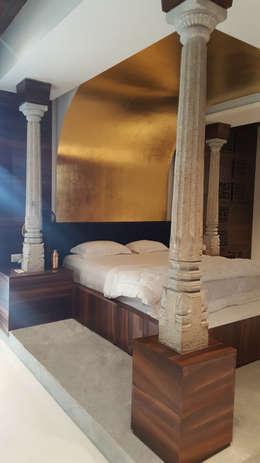 MARTIN RESIDENCE: modern Bedroom by CARTWHEEL