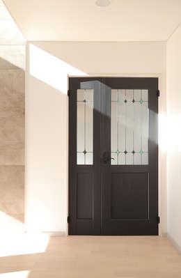 청라 패시브하우스 미아마스: OUA 오유에이의  목제 문