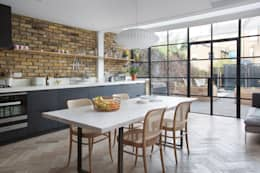 Oakford : eclectic Kitchen by Martins Camisuli Architects