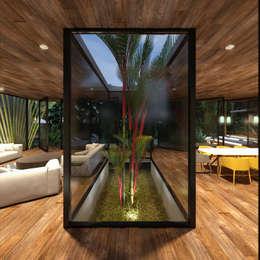 CASA PALMERA: Salas de estilo minimalista por JSM Arquitectos
