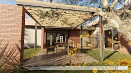House Snyman:  Patios by Property Commerce Architects