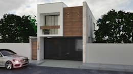 Rumah tinggal  by A. C. Arquitectura y diseño
