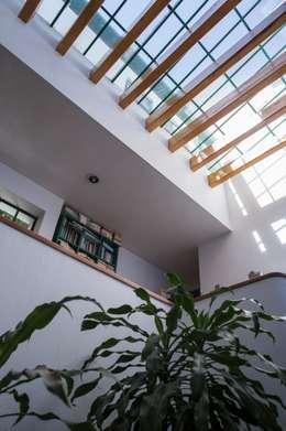 Tragaluz: Escaleras de estilo  por Bojorquez Arquitectos SA de CV