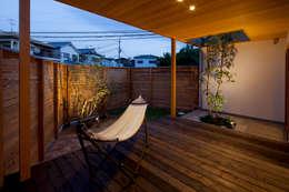 庭間の家: I Live Architects/田辺弘幸建築設計事務所が手掛けた庭です。