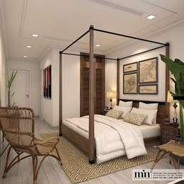 Vinhomes Golden River Apart: Phòng ngủ by Min Decor