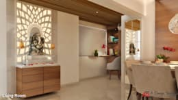 MULTI UTILITY AREA: modern Study/office by A Design Studio