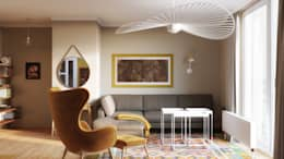 Living room by Hinteria