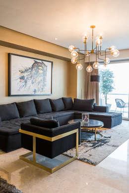 Color arena en las paredes ideas para aplicarlo en tu casa for Pintura dorada para pared