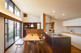 Столовые комнаты в . Автор – HAN環境・建築設計事務所