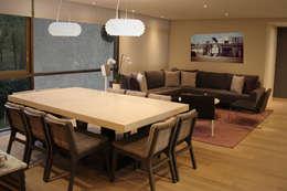 Departamento Acueducto - ARCO Arquitectura Contemporánea: Comedores de estilo moderno por ARCO Arquitectura Contemporánea