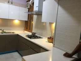 Project 1: modern Kitchen by Al Hashro Interiors
