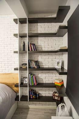 Design Hub interiors by Çise Mısırlısoy İç Mimar  – Yatak Odası: modern tarz Yatak Odası