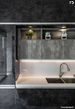 PROYECTO V-17: Cocinas de estilo minimalista por ARQDUO