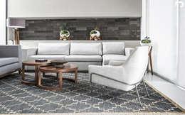 PROYECTO V-17: Salas de estilo minimalista por ARQDUO