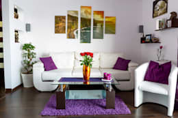 Interior: modern Living room by Workz Services LLP