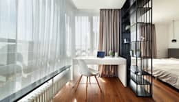 Большая удача: Рабочие кабинеты в . Автор – U-Style design studio