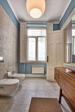 scandinavische Badkamer door SHI Studio, Sheila Moura Azevedo Interior Design