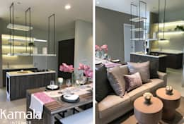 Show Unit The Spring:  Ruang Makan by Kamala Interior