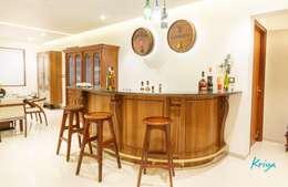 3 BHK Apartment - Fairmont Towers, Bengaluru: classic Dining room by KRIYA LIVING