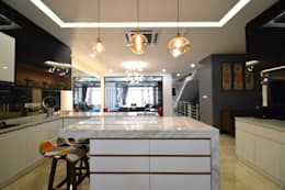 Kiara 1888: modern Kitchen by Hatch Interior Studio Sdn Bhd