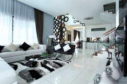 16 Sierra: modern Living room by Hatch Interior Studio Sdn Bhd