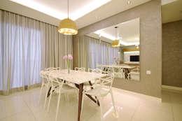 Windows On The Park: modern Living room by Hatch Interior Studio Sdn Bhd