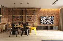 Phòng khách by Fibi Interiors