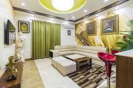 Mr. Mandal: modern Living room by Incense interior exterior pvt Ltd.