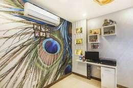 Mr. Mandal: modern Study/office by Incense interior exterior pvt Ltd.
