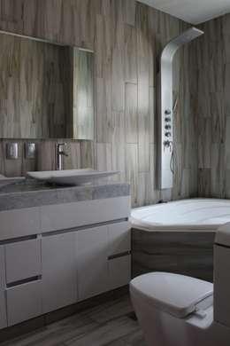Casa Nordika: Baños de estilo  por Itech Kali