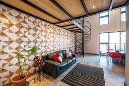 Semillero: Salas de estilo moderno por ESTUDIO TANGUMA